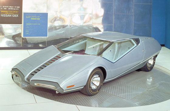 Japan concept car Nissan 126X