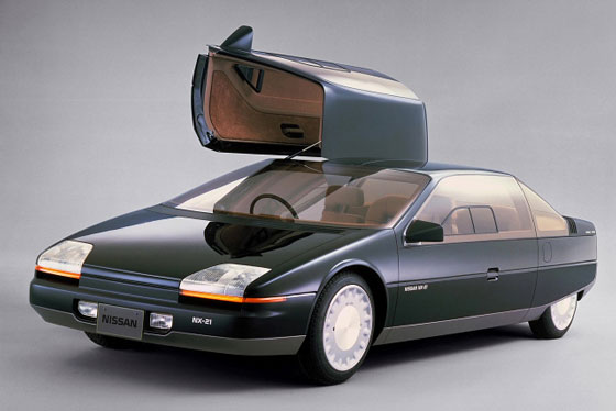 Japan concept car Nissan NX-21