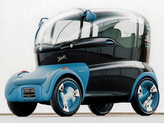Japan concept car Mazda London Taxi