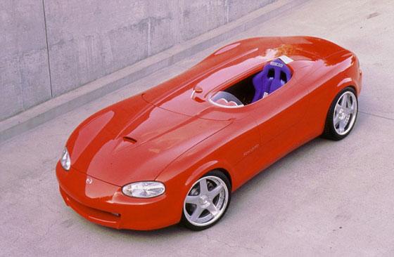 Japan concept car Mazda Miata Mono-Posto