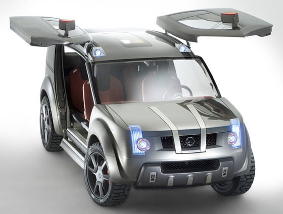 Japan concept car Nissan Zaroot