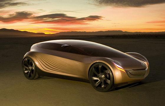 Japan concept car Mazda Nagare