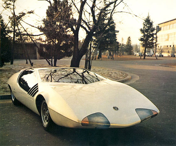 Japan concept car Toyota EX-III