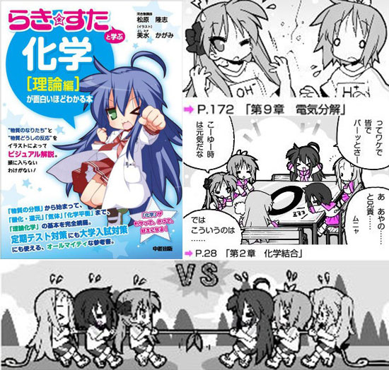 Lucky Star Japanese text book