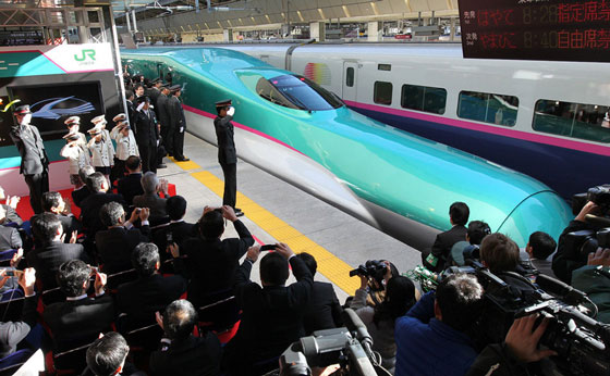 E5 Series bullet train for Tohoku Shinkansen Line